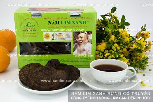 Các loại nấm lim xanh rừng của Công ty Nông Lâm Sản Tiên Phước phân phối.