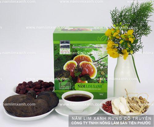 Công ty Nông Lâm Sản Tiên Phước có những loại nấm nào?