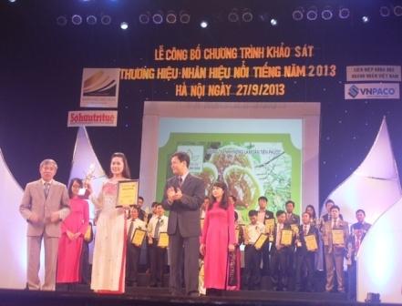 nam lim xanh vao top 100 nhan hieu noi tieng 2013