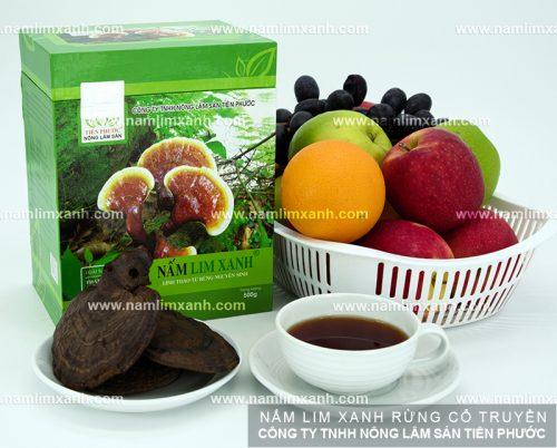 Sản phẩm nấm lim xanh tự nhiên của công ty TNHH Nông lâm sản Tiên Phước.