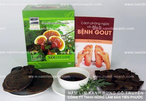 Tác dụng nấm lim xanh trong điều trị bệnh gout
