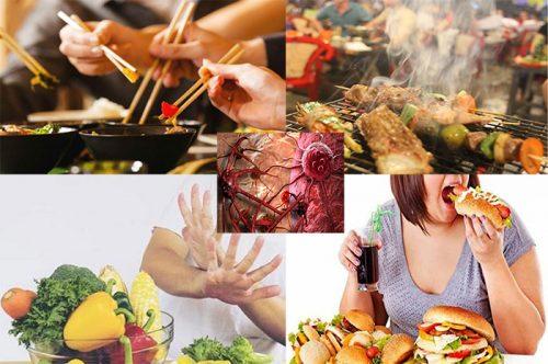 Thói quen gây ung thư qua đường ăn uống