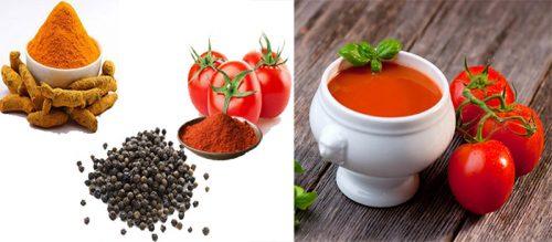 Bài thuốc phòng chống ung thư từ nghệ và bột tiêu đen