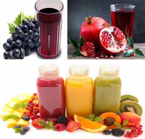 Các loại nước trái cây giúp phòng chống bệnh tim mạch