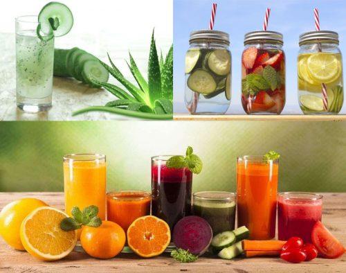 Các loại nước uống giảm cân nhanh tại nhà