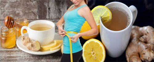 Các loại nước uống giảm cân nhanh từ gừng