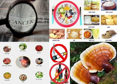 Cách phòng tránh ung thư dạ dày cùng thói quen ăn uống sinh hoạt