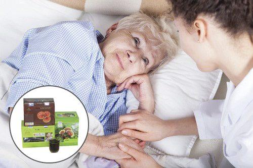 Kết hợp các phương pháp Tây y với uống nấm linh xanh rừng chữa bệnh ung thư đạt kết quả tốt.