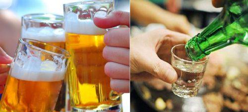 Nguy cơ gây ung thư do uống nhiều rượu bia