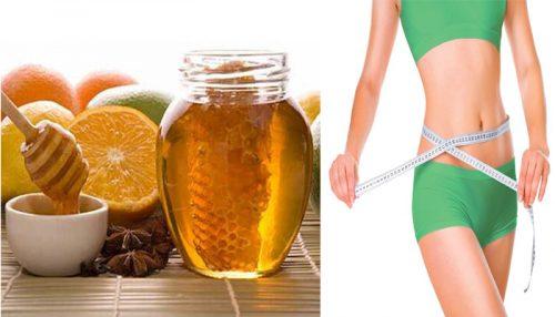 Nước uống giảm cân nhanh bằng mật ong