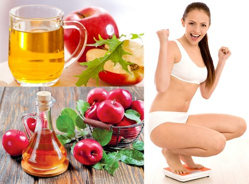 Nước uống giảm cân nhanh từ giấm táo