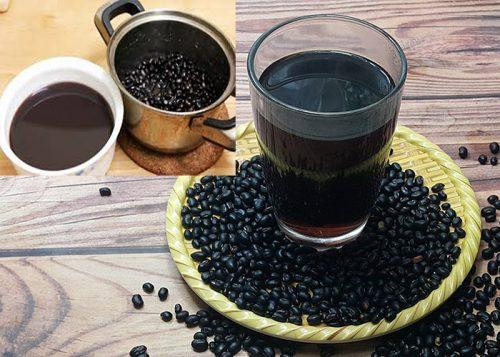 Nước uống giảm mỡ bụng bằng đậu đen