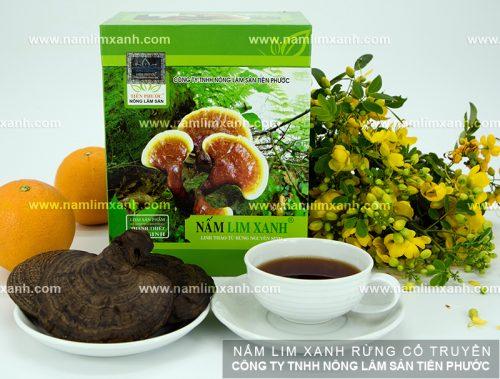 Công dụng nấm lim xanh rừng Tiên Phước gồm có chữa bệnh, bồi bổ và làm đẹp