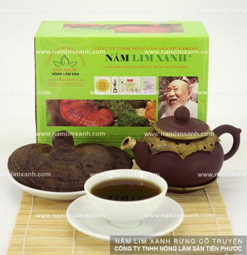 Liều lượng nấm lim xanh dùng để nấu trà
