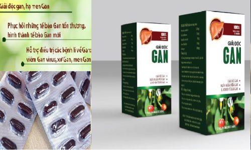 Các loại thực phẩm chức năng giải độc gan