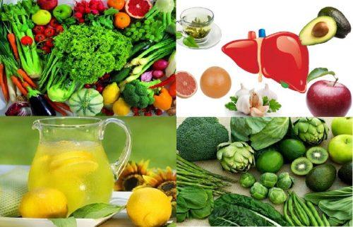 Các loại thực phẩm giải độc gan tốt nhất