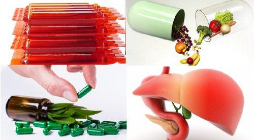 Lưu ý sử dụng thực phẩm chức năng giải độc gan