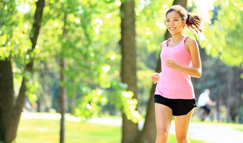 Chạy bộ là cách giảm mỡ đùi hiệu quả