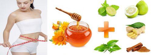 Các cách giảm cân bằng mật ong