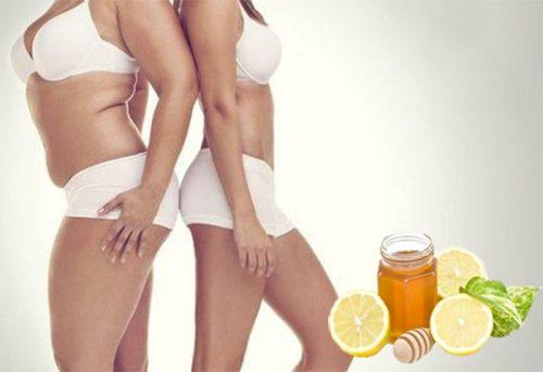 Cách giảm cân bằng mật ong và chanh