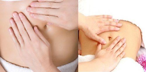 Cách massage để giảm mỡ bụng