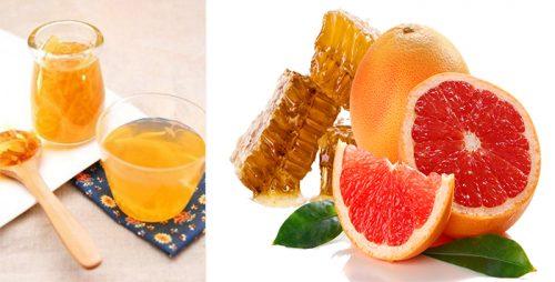 Cách pha mật ong trà bưởi giảm cân hiệu quả
