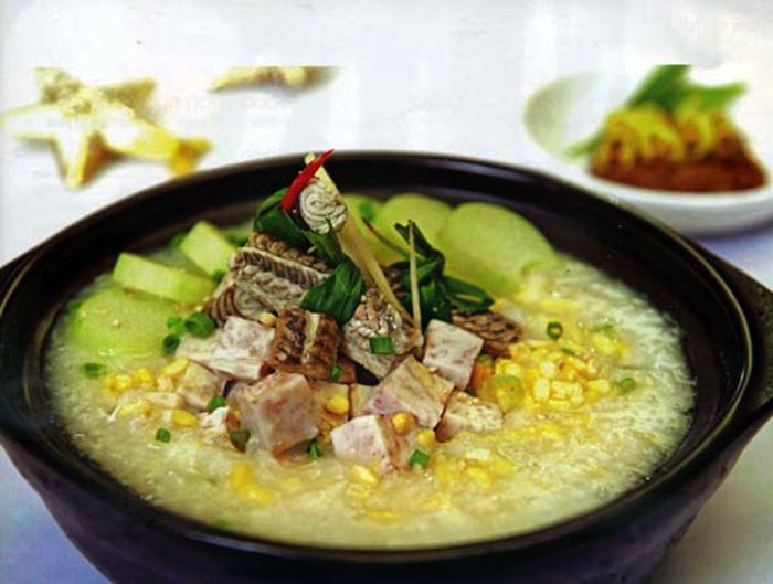 Cháo lươn xanh đặc sản Quảng Nam món ăn dân dã
