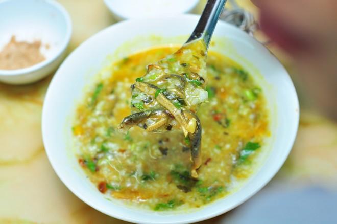 Món cháo lươn xanh Quảng Nam hấp dẫn