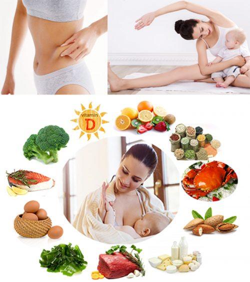 Giảm béo cho phụ nữ sau sinh cần lưu ý những gì?