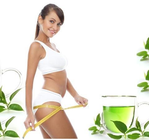 Sử dụng trà xanh để giảm mỡ đùi