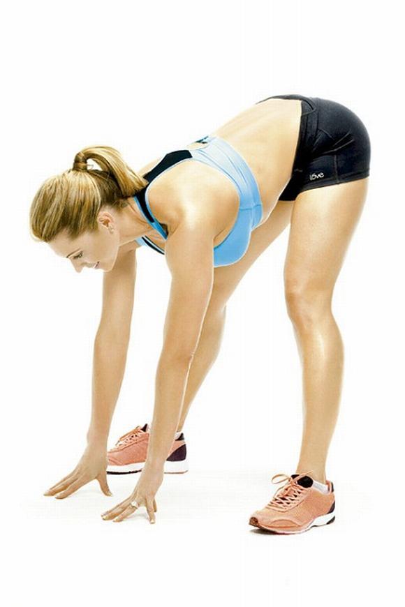 thực hiện các bài tập thể dục