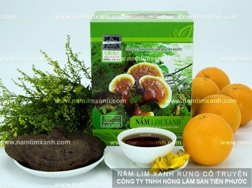 Uống nấm liêm xanh rừng phòng ngừa bệnh tật