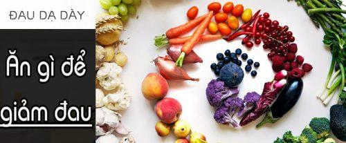 Ăn gì để giảm đau dạ dày?