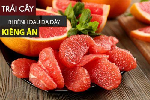 Đau dạ dày không nên ăn quả gì?