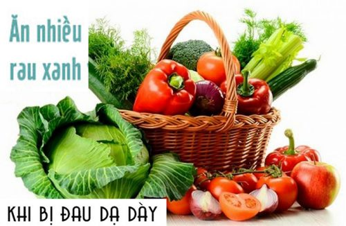 Đau dạ dày nên ăn rau gì?