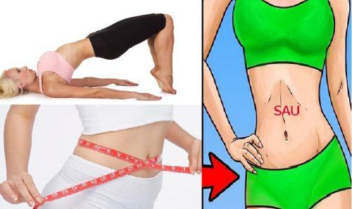 Giảm mỡ bụng tự nhiên bằng tập luyện