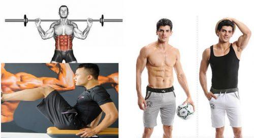 Tập gym giảm mỡ bụng tự nhiên cho nam giới