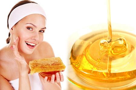 Mật ong nguyên chất rất tốt cho da