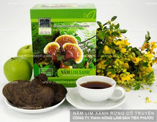 Cách dùng nấm lim xanh rừng để phát huy dược chất riboflavin trong nấm.