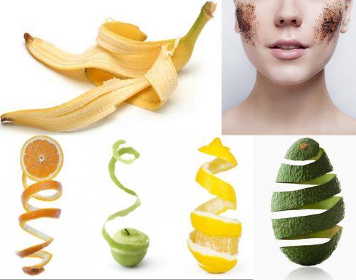 Làm đẹp da mặt từ bã trái cây