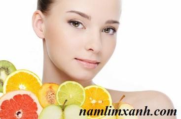 """Hoa quả là một loại """"mỹ phẩm"""" từ thiên nhiên rất tốt cho da mặt"""