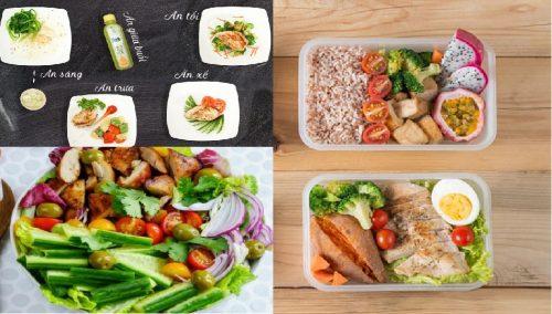 Bí quyết giảm cân nhanh bằng chế độ ăn Eat Clean