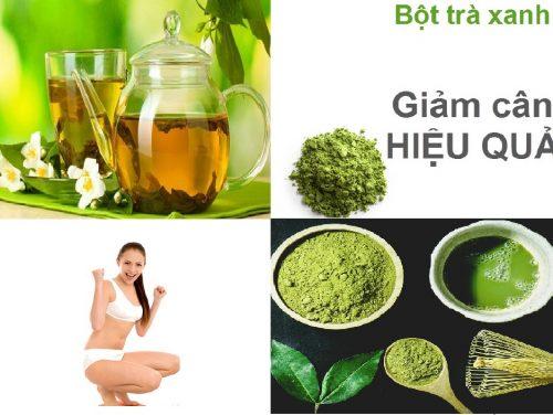 Bí quyết giúp giảm cân nhanh bằng trà xanh