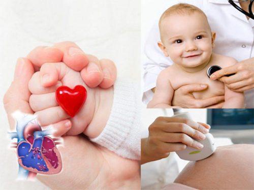 Dấu hiệu bệnh tim mạch bẩm sinh