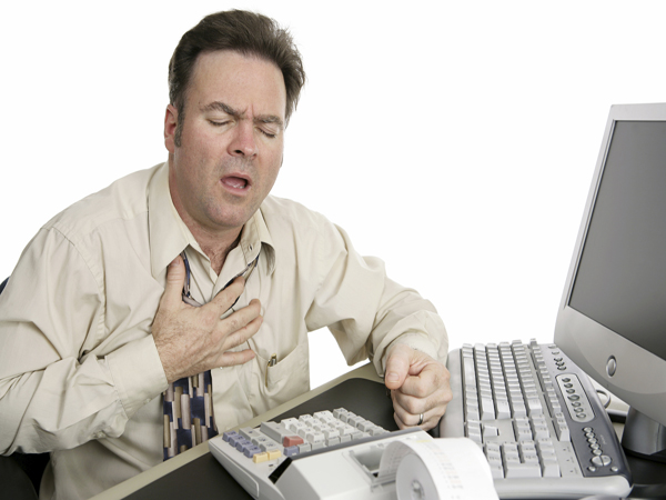 Bệnh tim mạch có thể gây ra hiện tượng khó thở