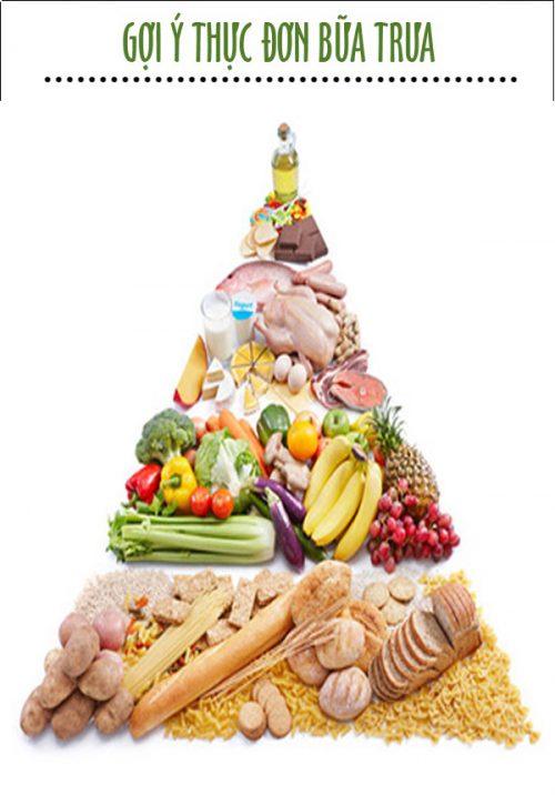 Thực đơn bữa trưa giúp tăng cân nhanh