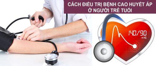 Cách điều trị huyết áp cao ở người trẻ