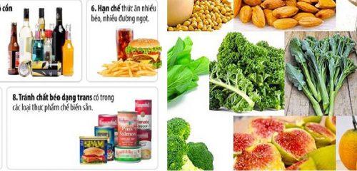 Nguyên tắc sử dụng thực phẩm phòng tránh ung thư