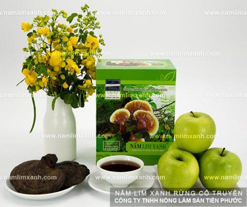Giá bán nấm lim xanh Công ty Tiên Phước được niêm yết công khai