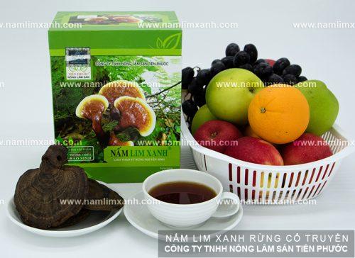 Giá bán nấm lim xanh của Công ty Tiên Phước tương xứng với chất lượng sản phẩm